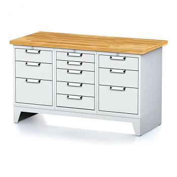 Dílenský stůl MECHANIC 1500x700, G(BCB)