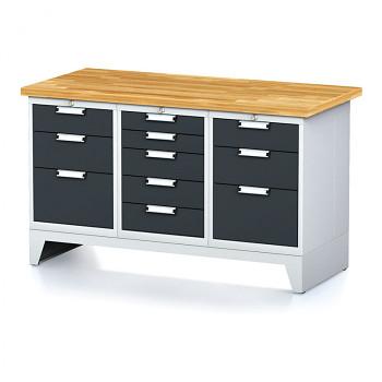 Dílenský stůl MECHANIC 1500x700, A(BCB)