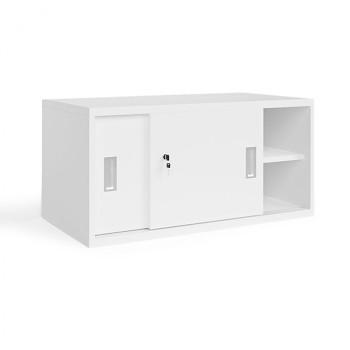 Nástavba skříně,  800x 400x400, bílá, posuv, MIRELLI A+