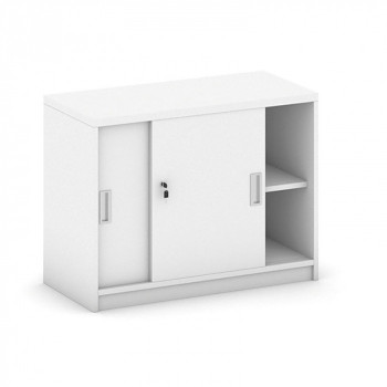 Nástavba skříně,  800x 600x400, bílá, posuv, MIRELLI A+