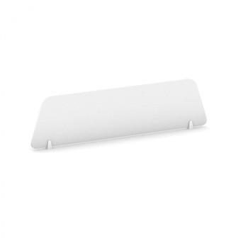 Stolní paraván, 1200 x 300, bílá, MIRELLI A+