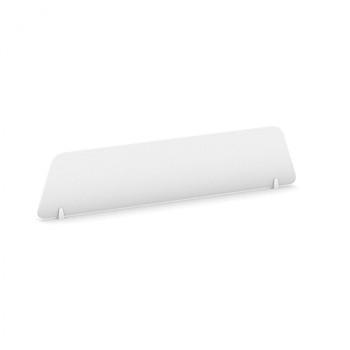 Stolní paraván, 1600 x 300, bílá, MIRELLI A+