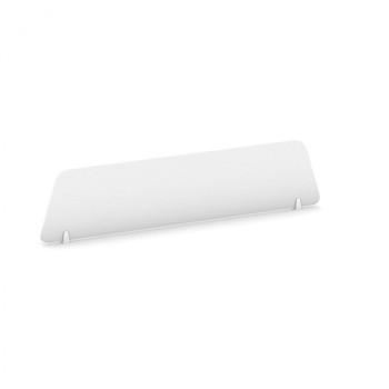 Stolní paraván, 1400 x 300, bílá, MIRELLI A+