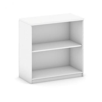 Kancelářská skříň,  800x 800x400, bílá, MIRELLI A+