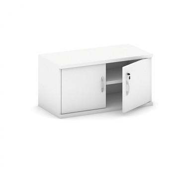 Nástavba skříně,  800x 400x400, bílá, křídlové, MIRELLI A+