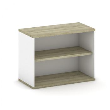 Nástavba skříně,  800x 600x400, bílá/dub sonoma, MIRELLI A+