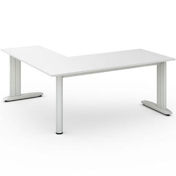 Stůl FLEXIBLE L, bílá, 1800x1800