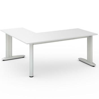 Stůl FLEXIBLE L, bílá, 1800x1600