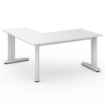 Stůl FLEXIBLE L, bílá, 1600x1600