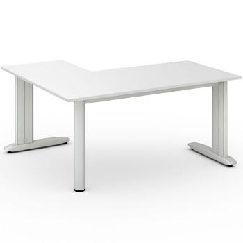 Stůl FLEXIBLE L, bílá, 1600x1400