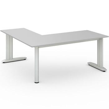 Stůl FLEXIBLE L, šedá, 1800x1800