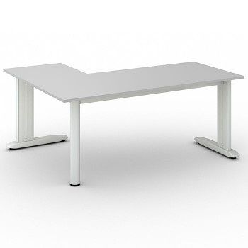 Stůl FLEXIBLE L, šedá, 1800x1400