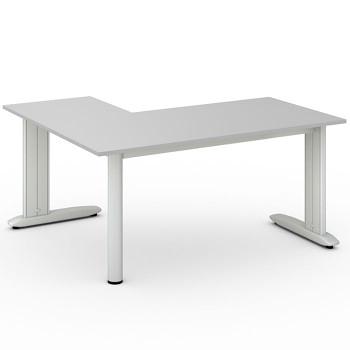 Stůl FLEXIBLE L, šedá, 1600x1400