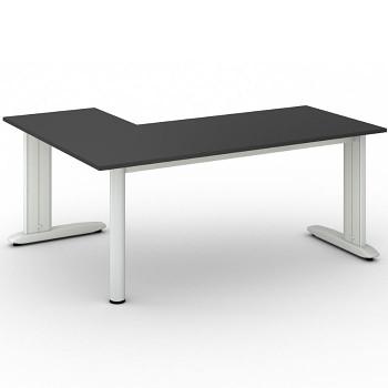 Stůl FLEXIBLE L, antracit, 1800x1400