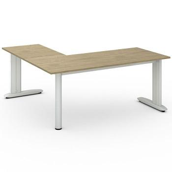 Stůl FLEXIBLE L, dub přírodní, 1800x1800