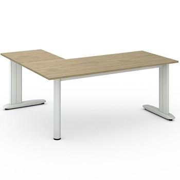 Stůl FLEXIBLE L, dub přírodní, 1800x1600