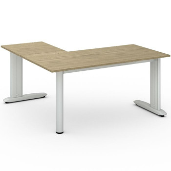 Stůl FLEXIBLE L, dub přírodní, 1600x1600