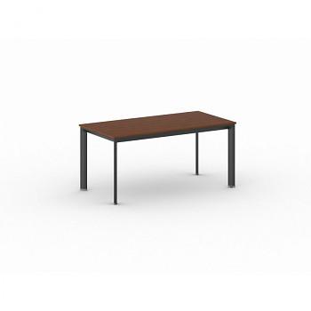 Jednací stůl 1600x 800x 740, třešeň, podnož černá, INVITATION