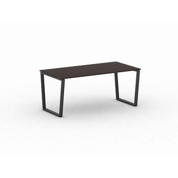 Jednací stůl 1800x 900x 750, wenge, podnož černá, IMPRESS