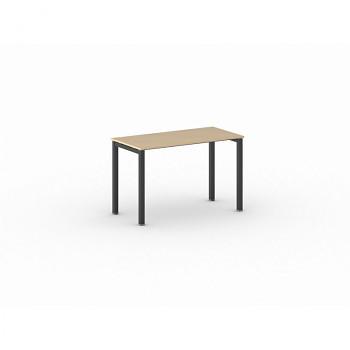 Jednací stůl 1200x 600x 750, buk, podnož černá, SQUARE