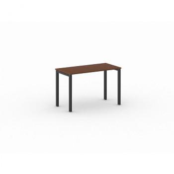 Jednací stůl 1200x 600x 750, třešeň, podnož černá, SQUARE