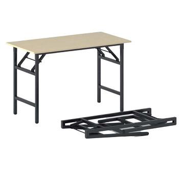 Konferenční stůl 1100x 500x 750, bříza, podnož černá, FAST READY