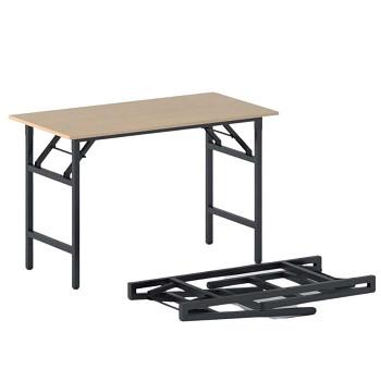 Konferenční stůl 1100x 500x 750, buk, podnož černá, FAST READY