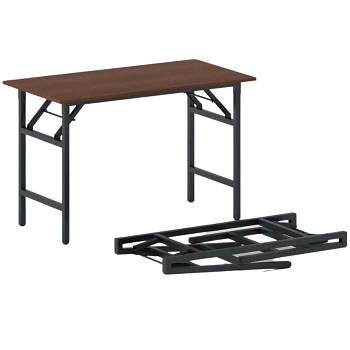 Konferenční stůl 1100x 500x 750, třešeň, podnož černá, FAST READY