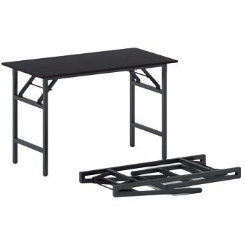 Konferenční stůl 1100x 500x 750, wenge, podnož černá, FAST READY