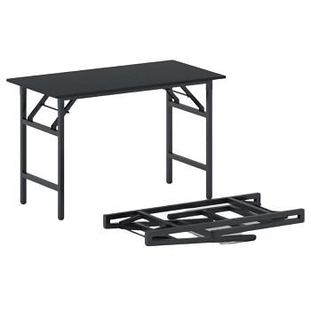 Konferenční stůl 1100x 500x 750, antracit, podnož černá, FAST READY