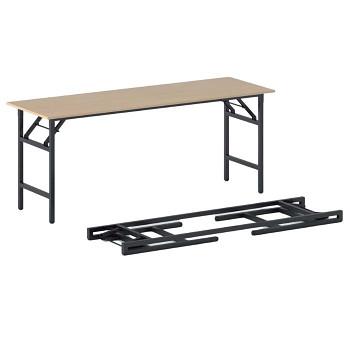 Konferenční stůl 1700x 500x 750, buk, podnož černá, FAST READY