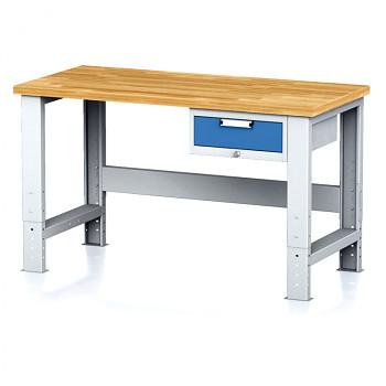 Dílenský stůl MECHANIC 1500x700, BZ1, SP