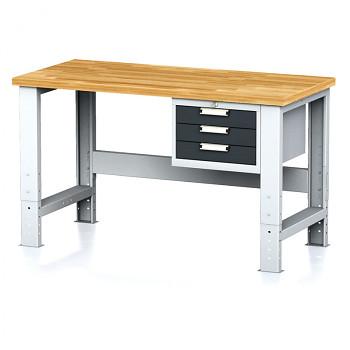 Dílenský stůl MECHANIC 1500x700, AZ3, SP