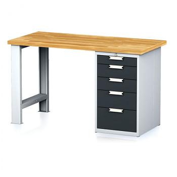 Dílenský stůl MECHANIC 1500x700, AP5