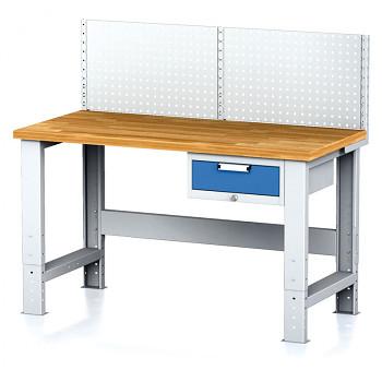 Dílenský stůl MECHANIC 1500x700, BZ1, SP s nástavbou