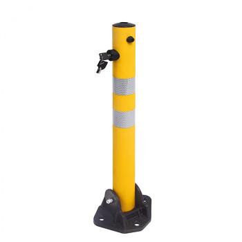 Parkovací sloupek žlutý