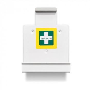Držák na lékárničku se zásobníkem náplastí