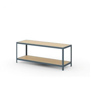Balící stůl bez polic, rozměry 2000x600x 900 mm