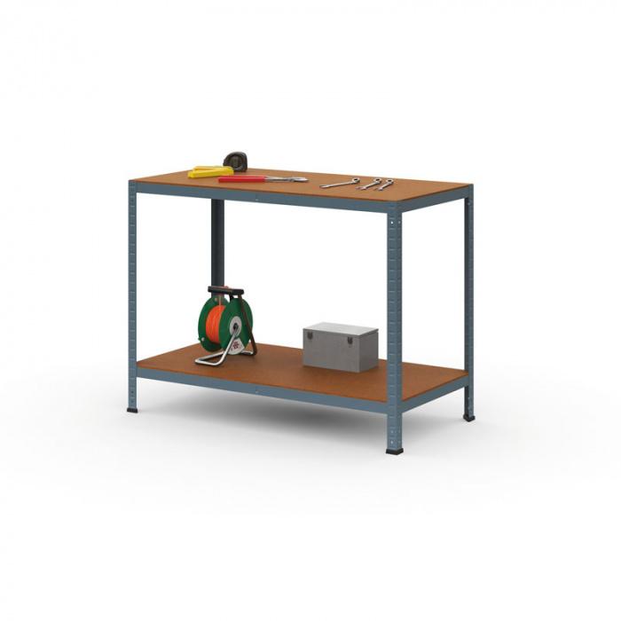 Balící stůl bez polic, rozměry 1200x600x 900 mm