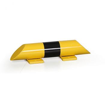 Kovová podlahová zábrana, délka  400 mm