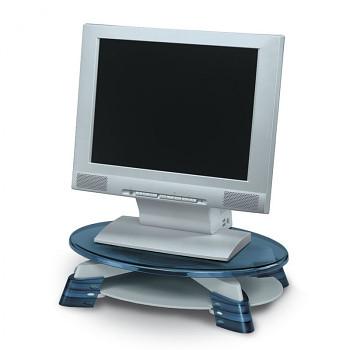 Podstavec pod monitor s poličkou