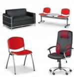 Kancelářské židle, kancelářská křesla, židle, lavice, sedací soupravy