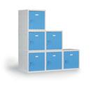 Kovové šatní skříňky - monoboxy